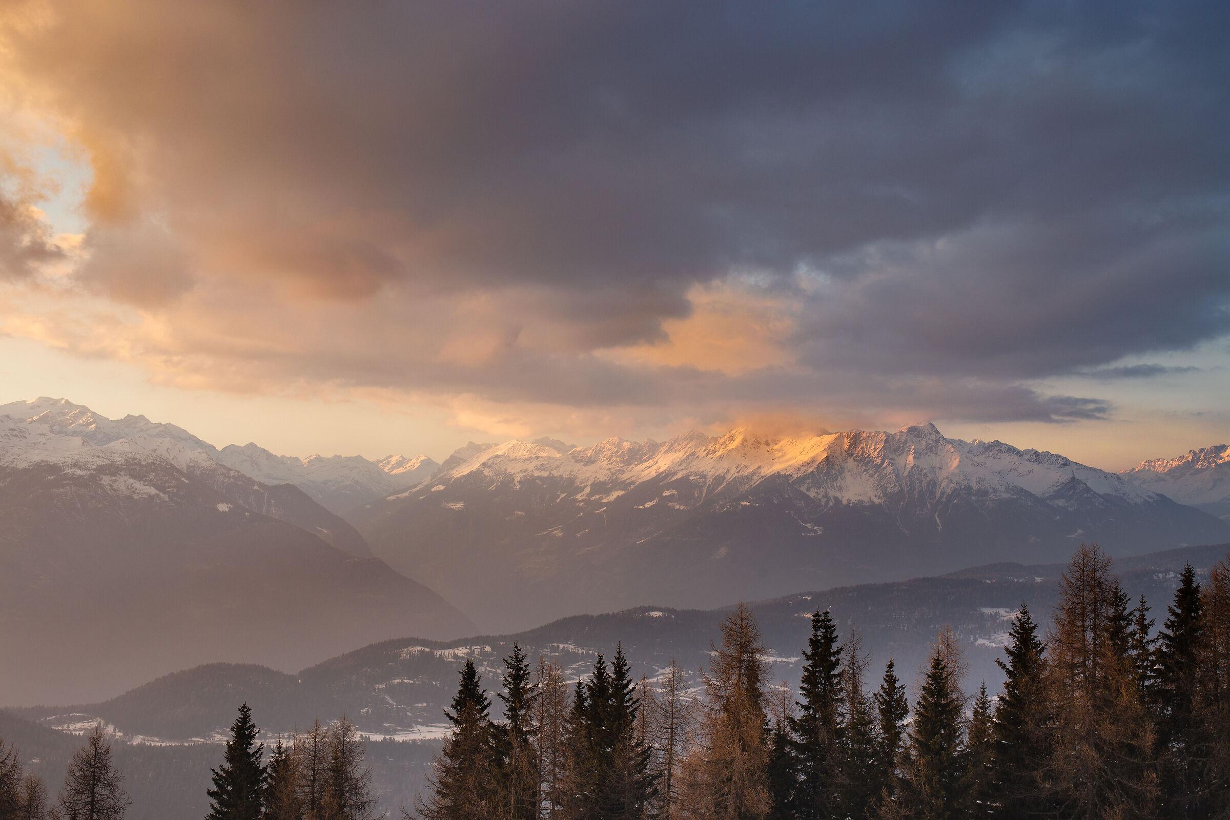 sunset in Valtellina...