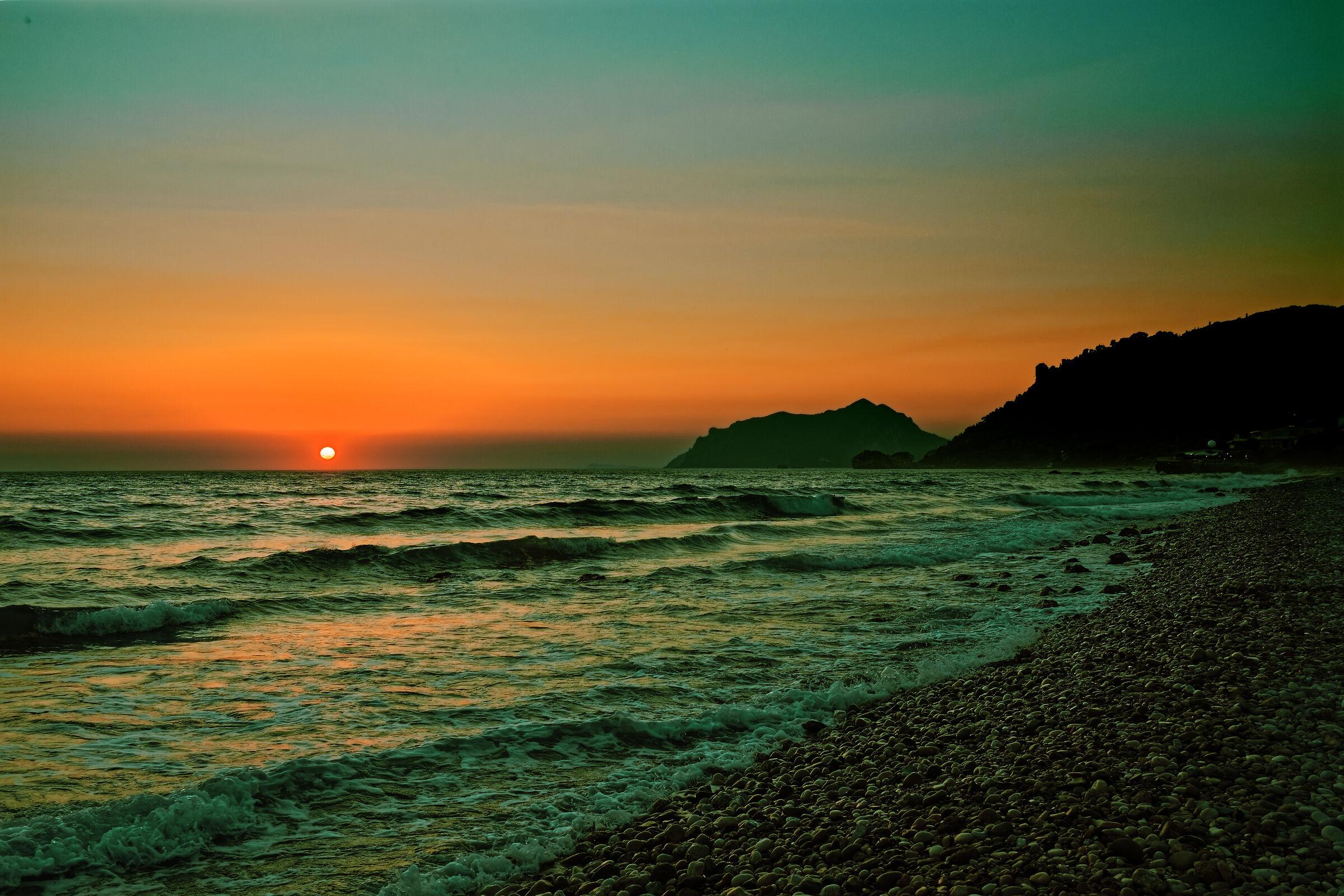 Corfu - Sunset in Agios Gordios (T&O)...