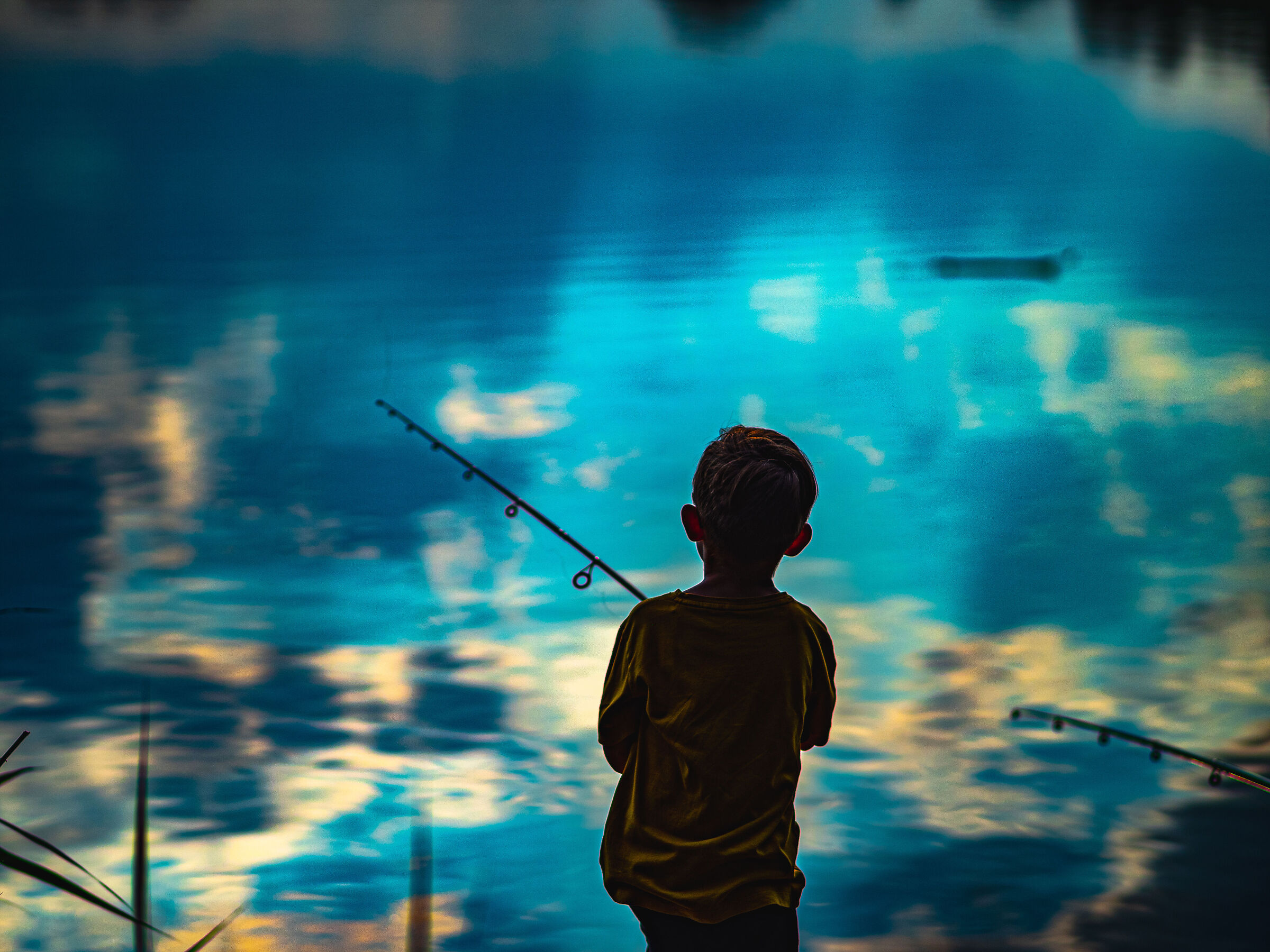 A real passion - Fishing in the clouds...