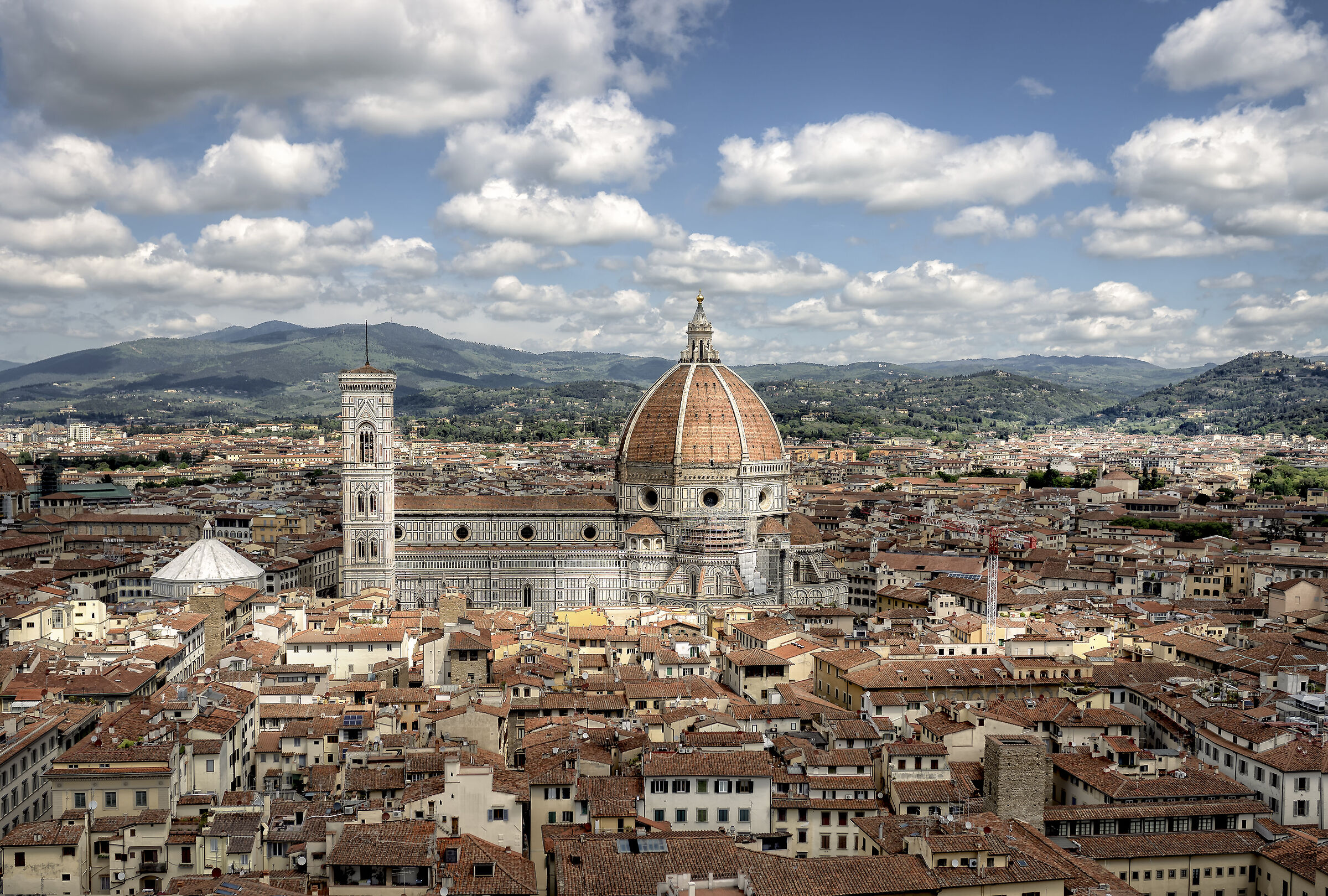 On top of Florence...
