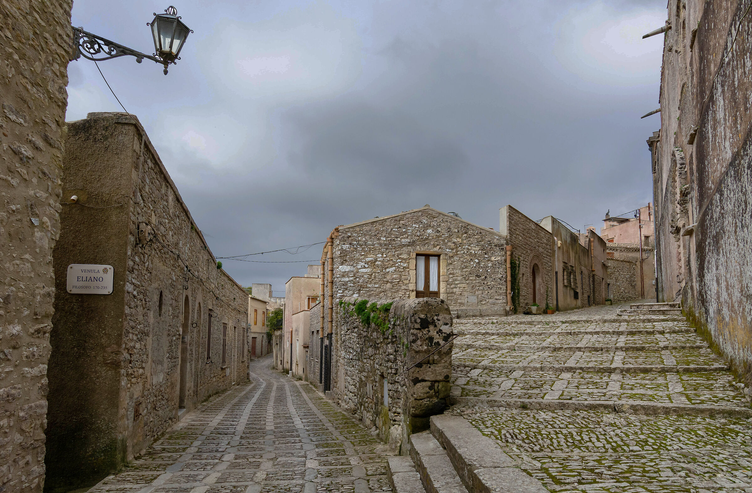Through the streets of Erice...