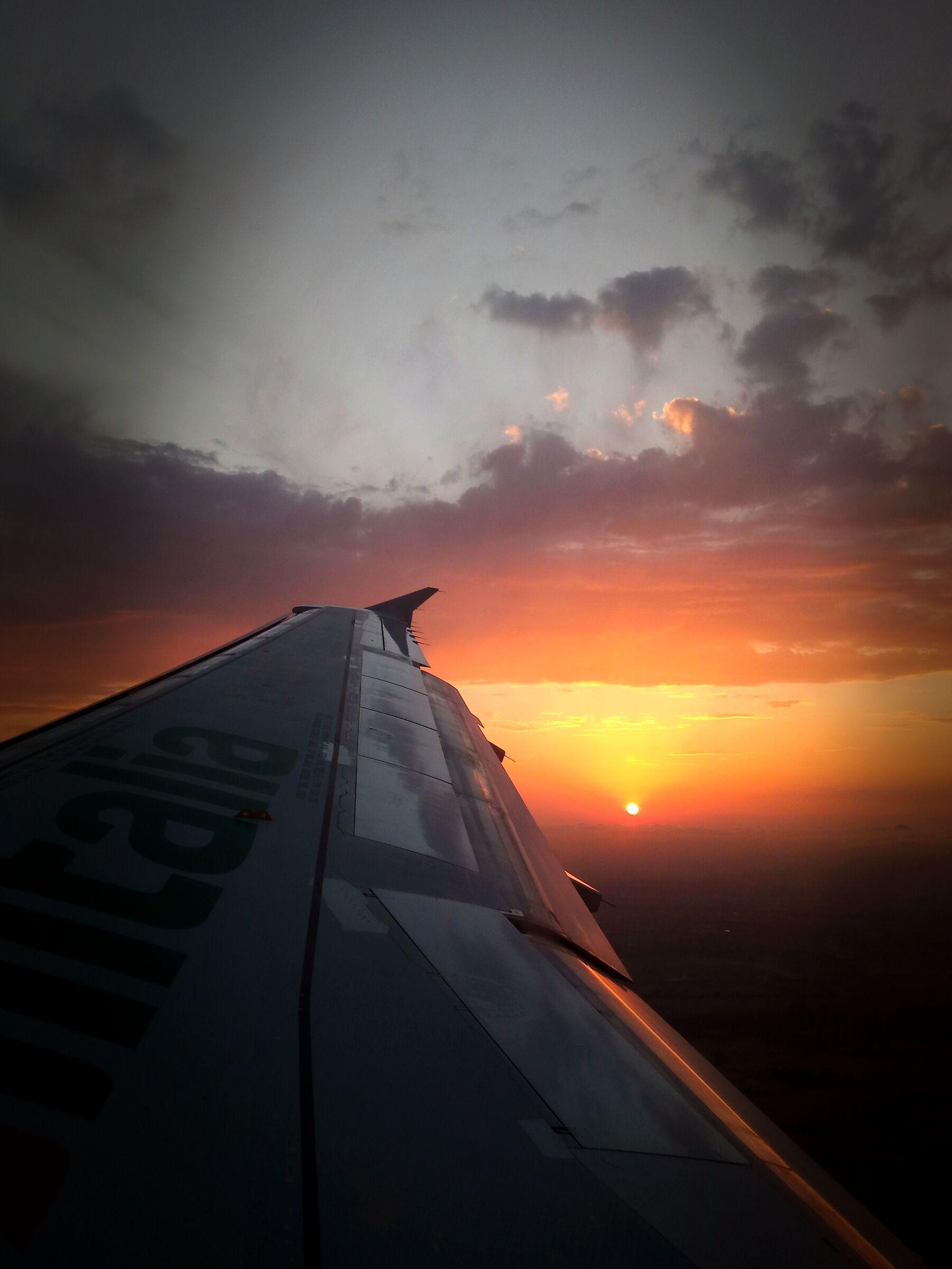Il tramonto di Alitalia......