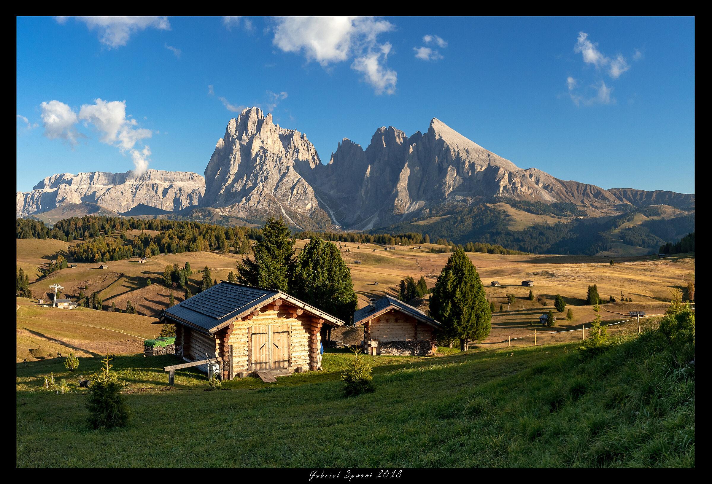 Cartolina dall'Alpe di Susi...