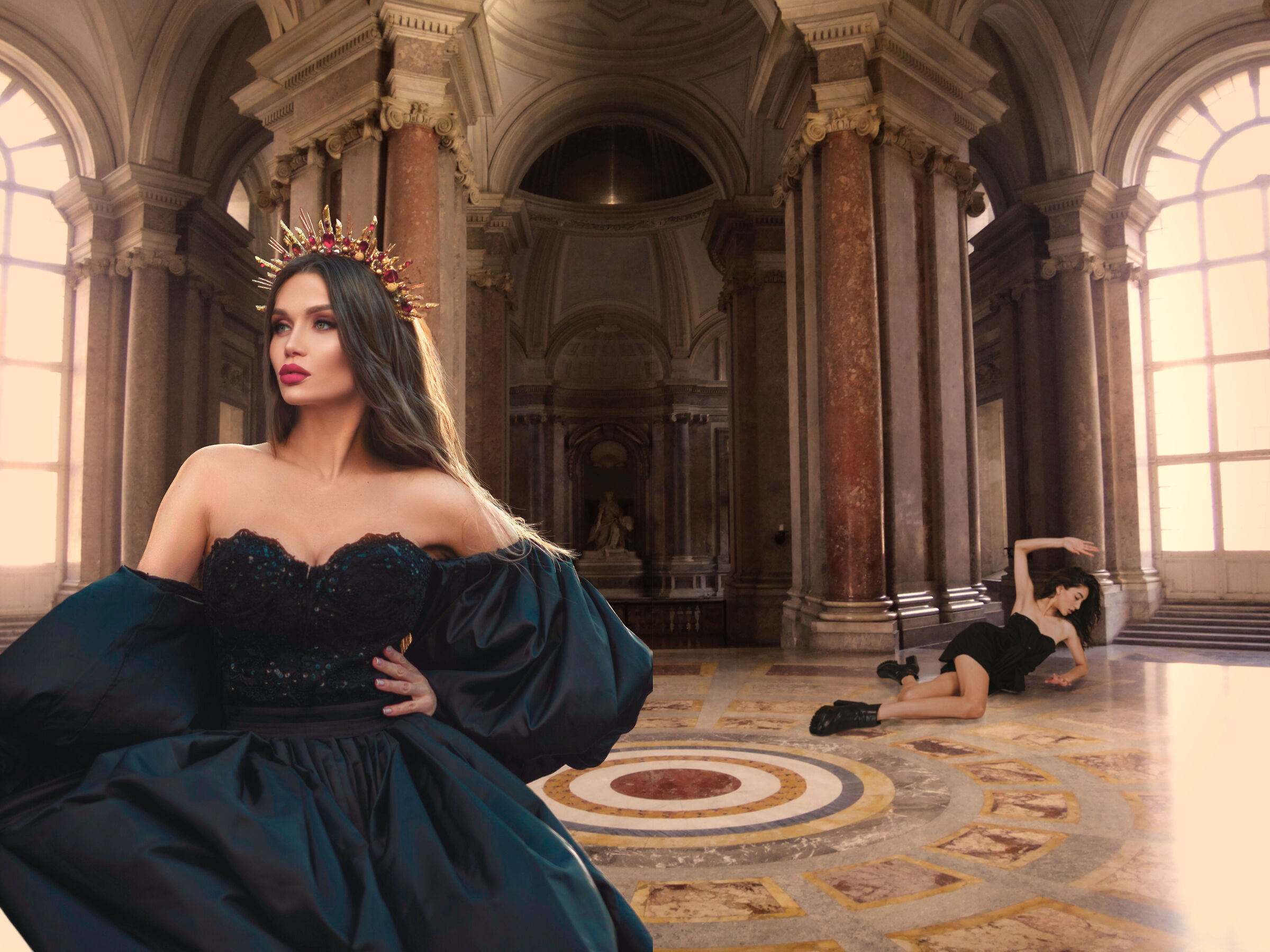 Elegance and vanity...