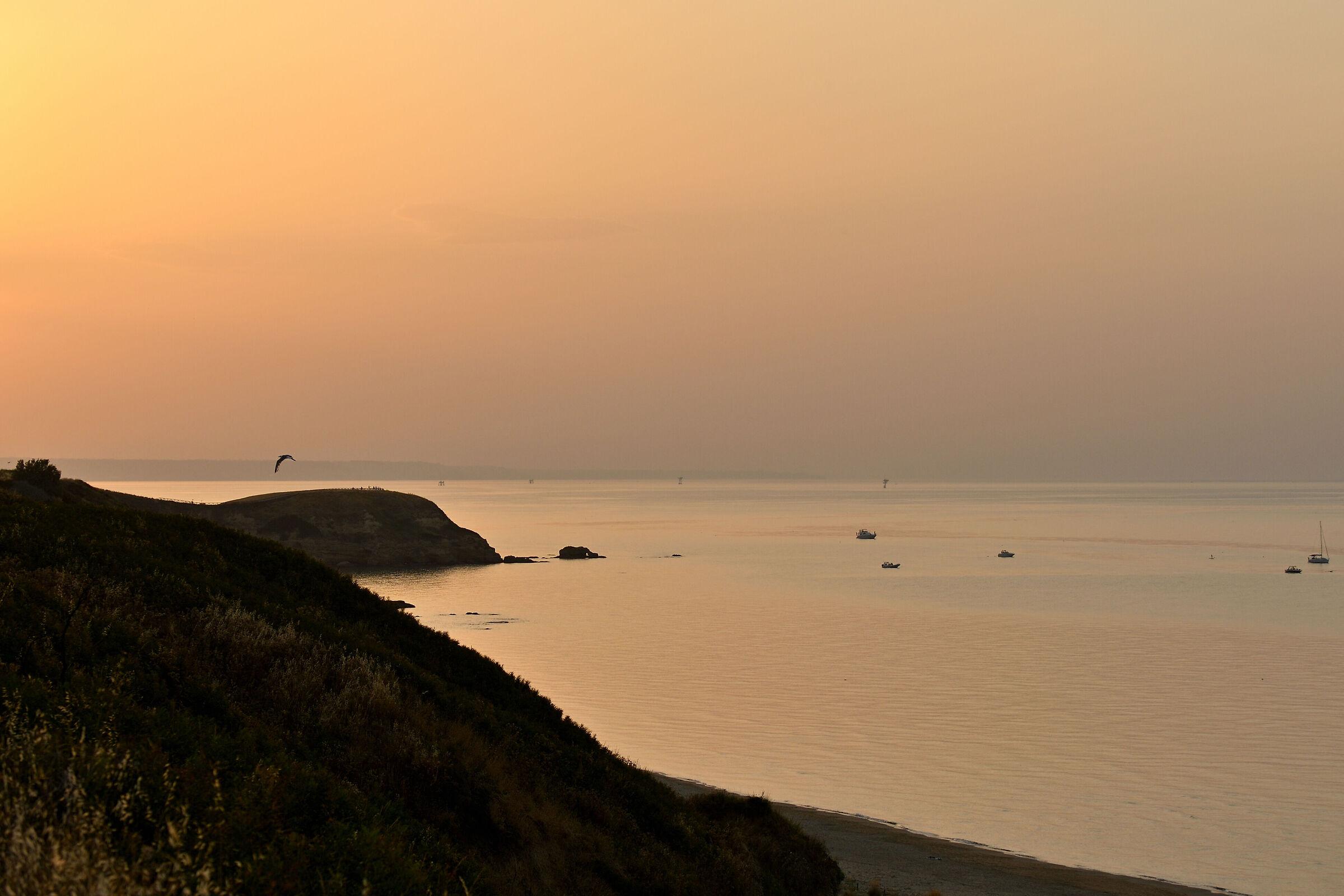 Pace, al tramonto....