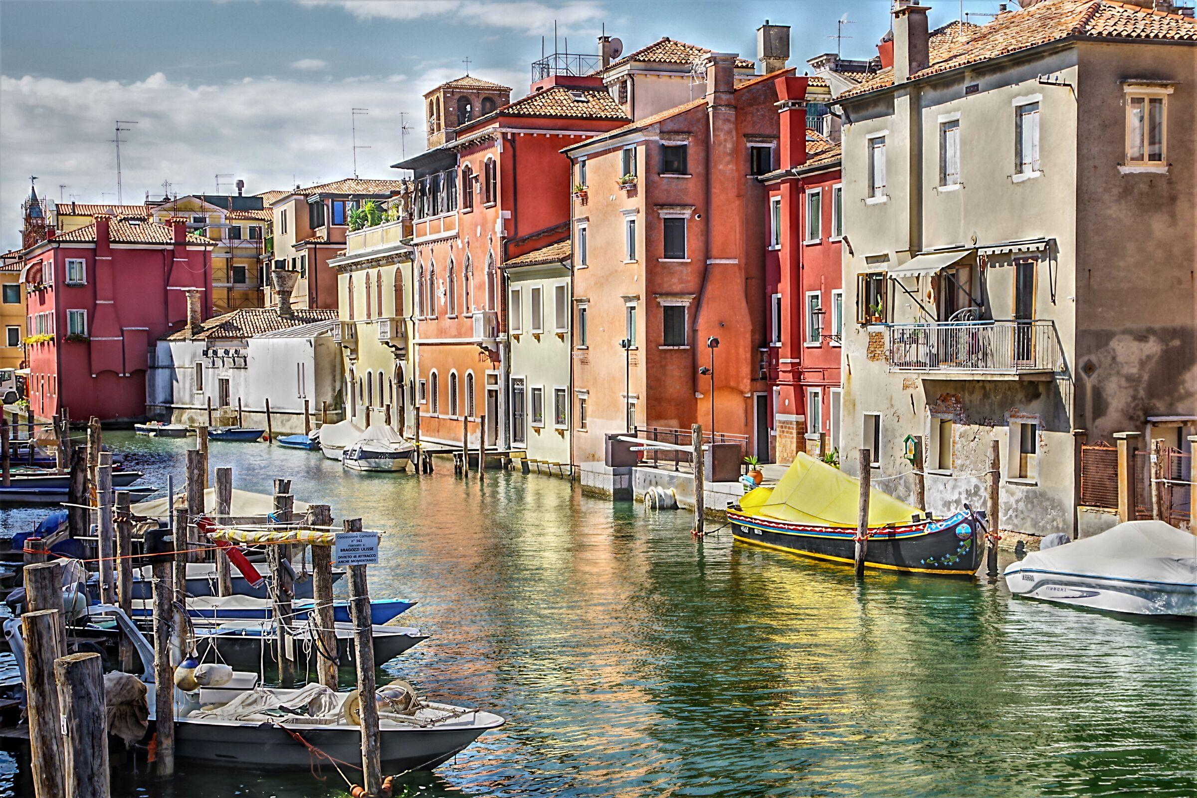 Vena Chioggia Canal...