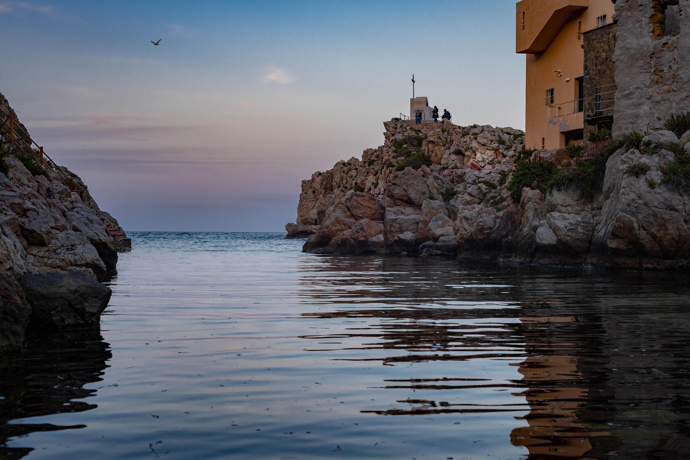 The cove of Sant'Elia...