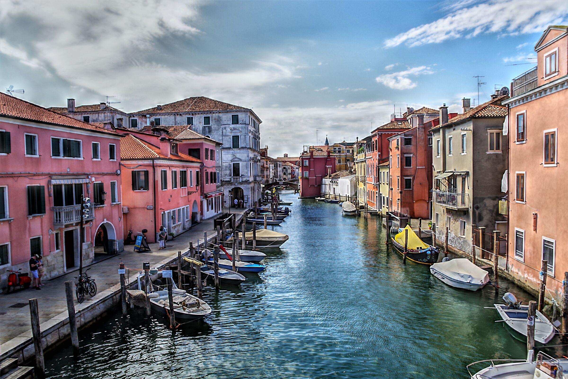View of Chioggia...