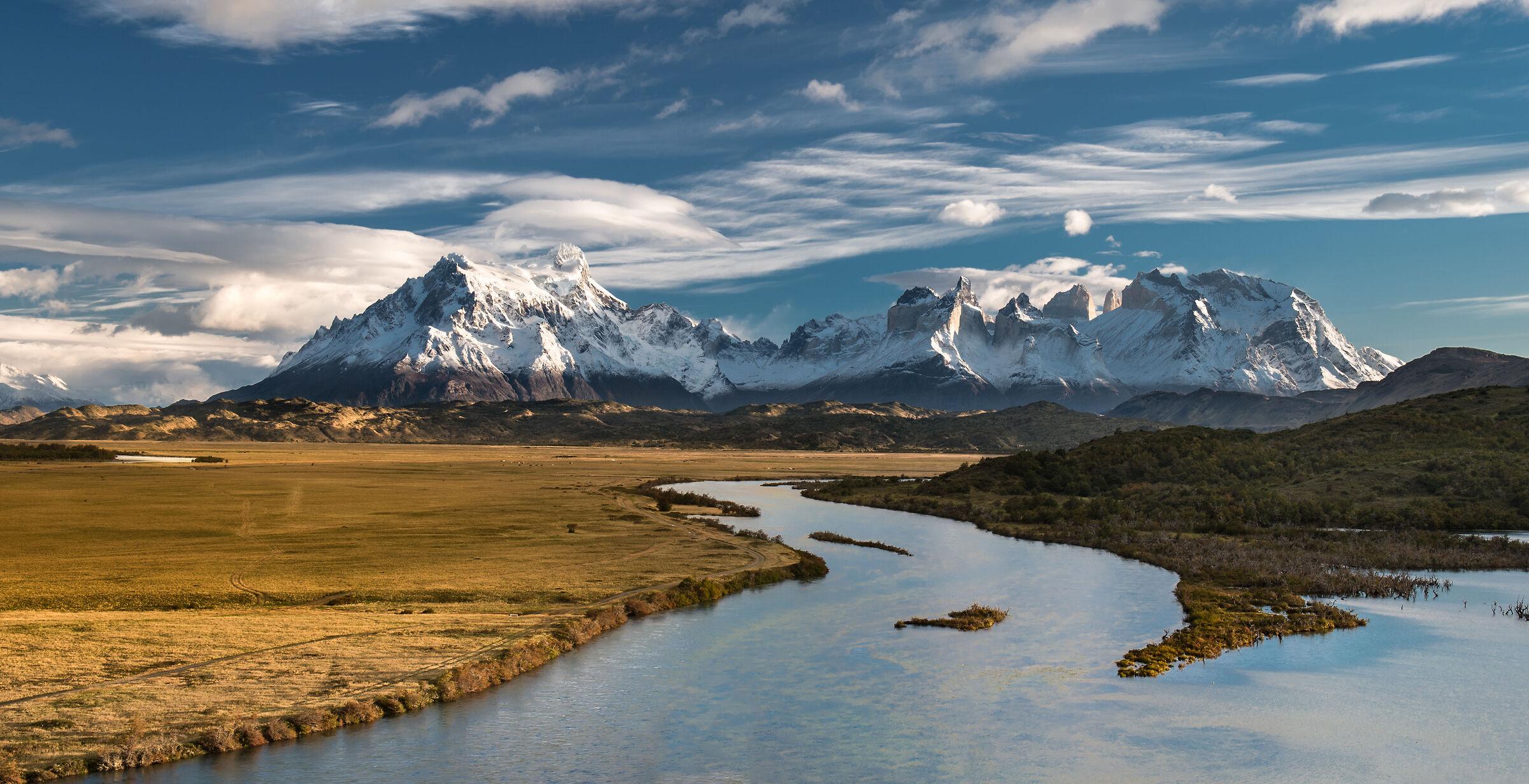 Torres del Paine National Park, Chilean Patagonia...