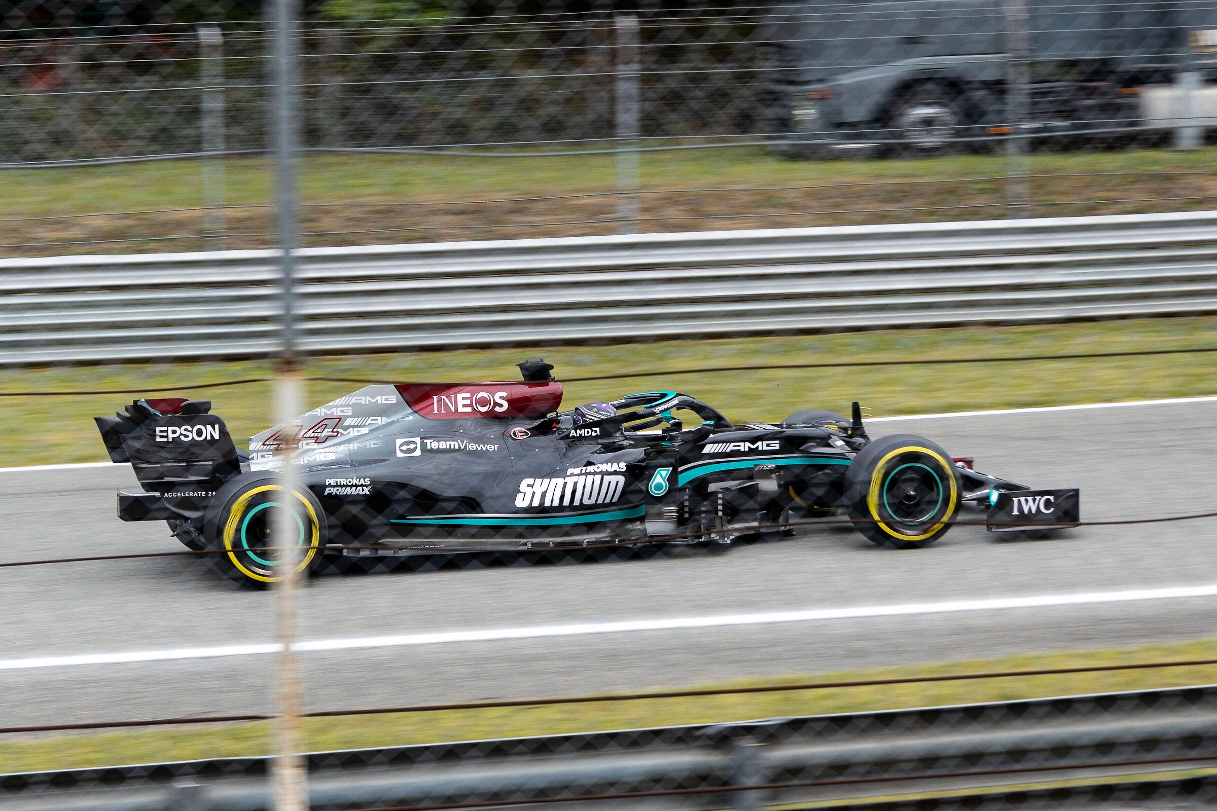 Lewis Hamilton - Monza 2021...