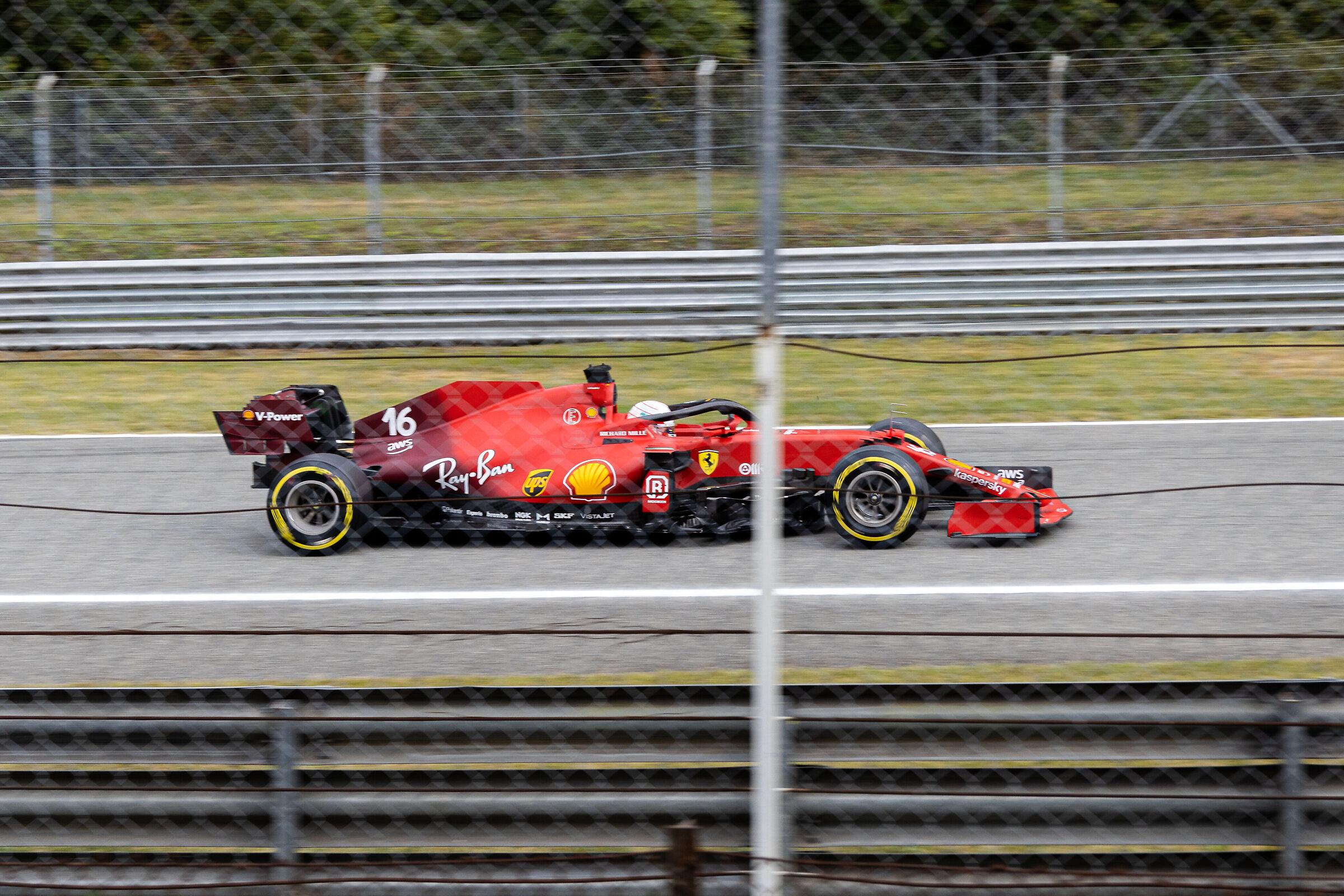 Charles Leclerc - Monza 2021...