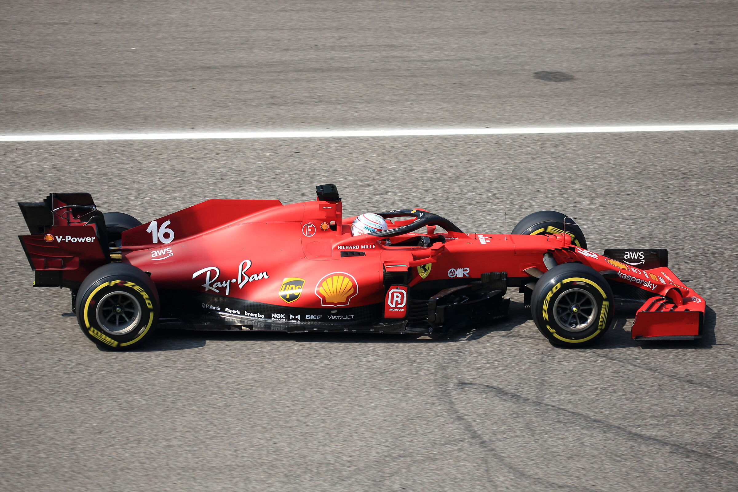 La Rossa in Monza...