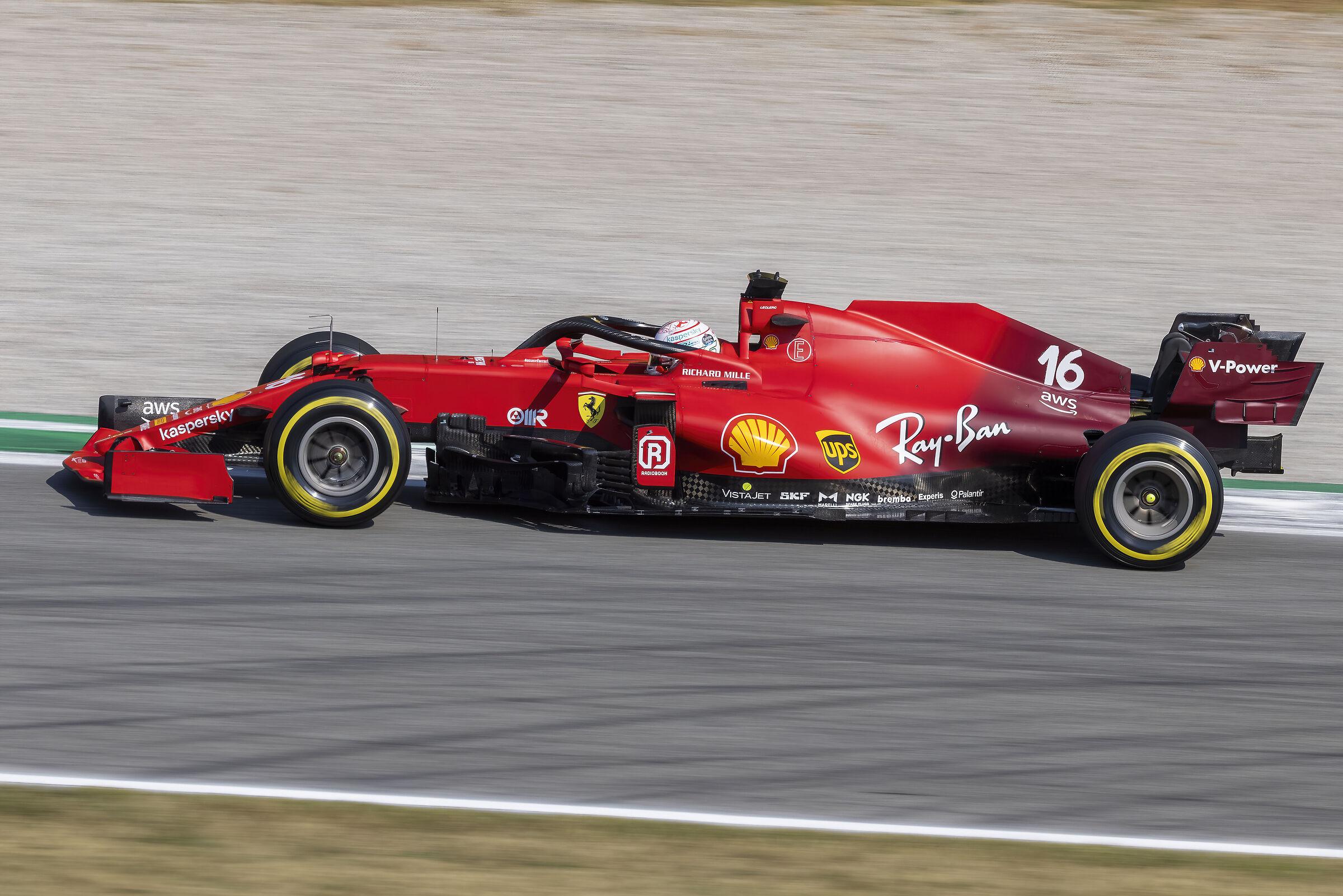 Ferrari sF21 - Leclerc...