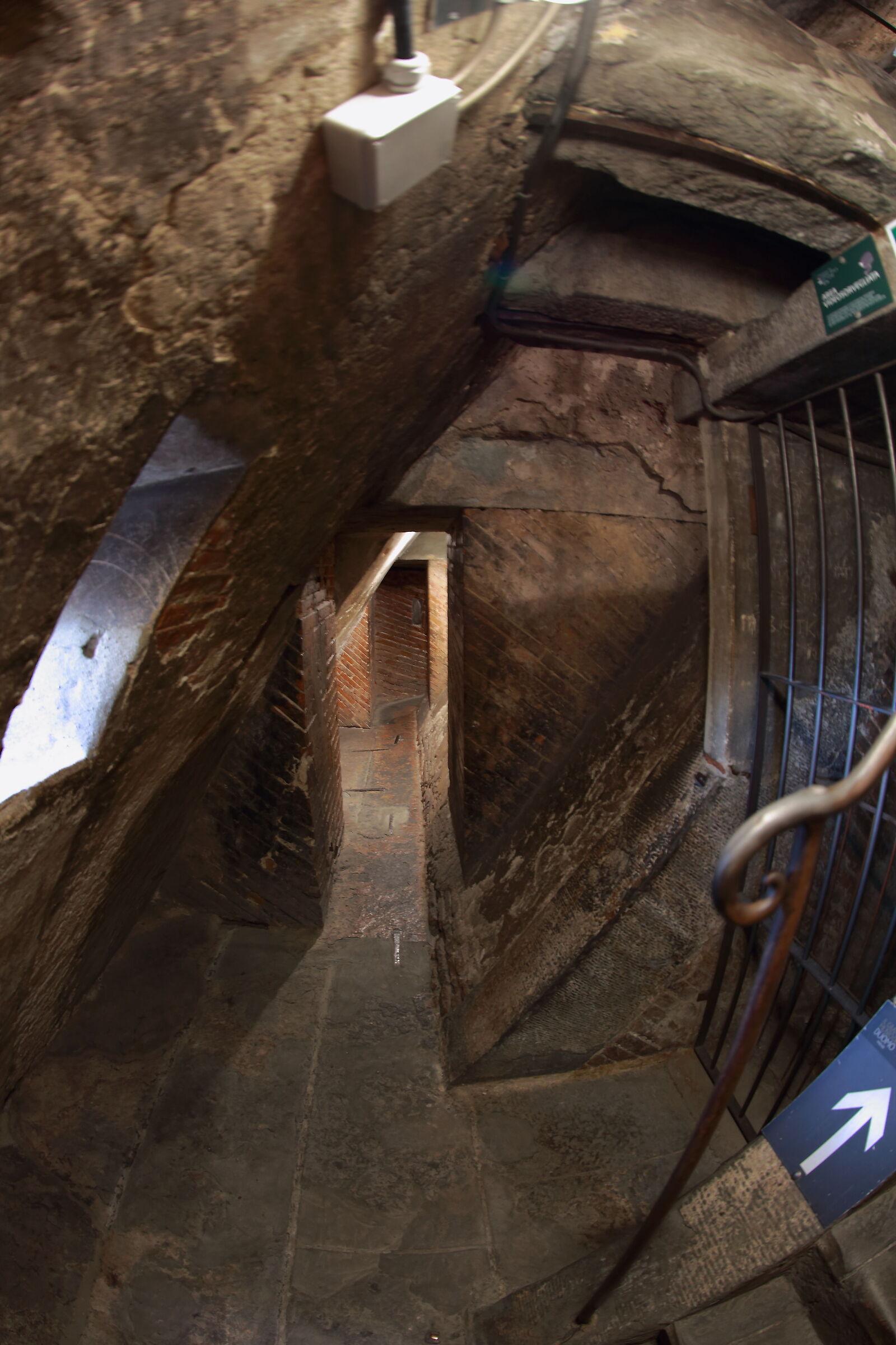 Inside Brunelleschi's Dome...