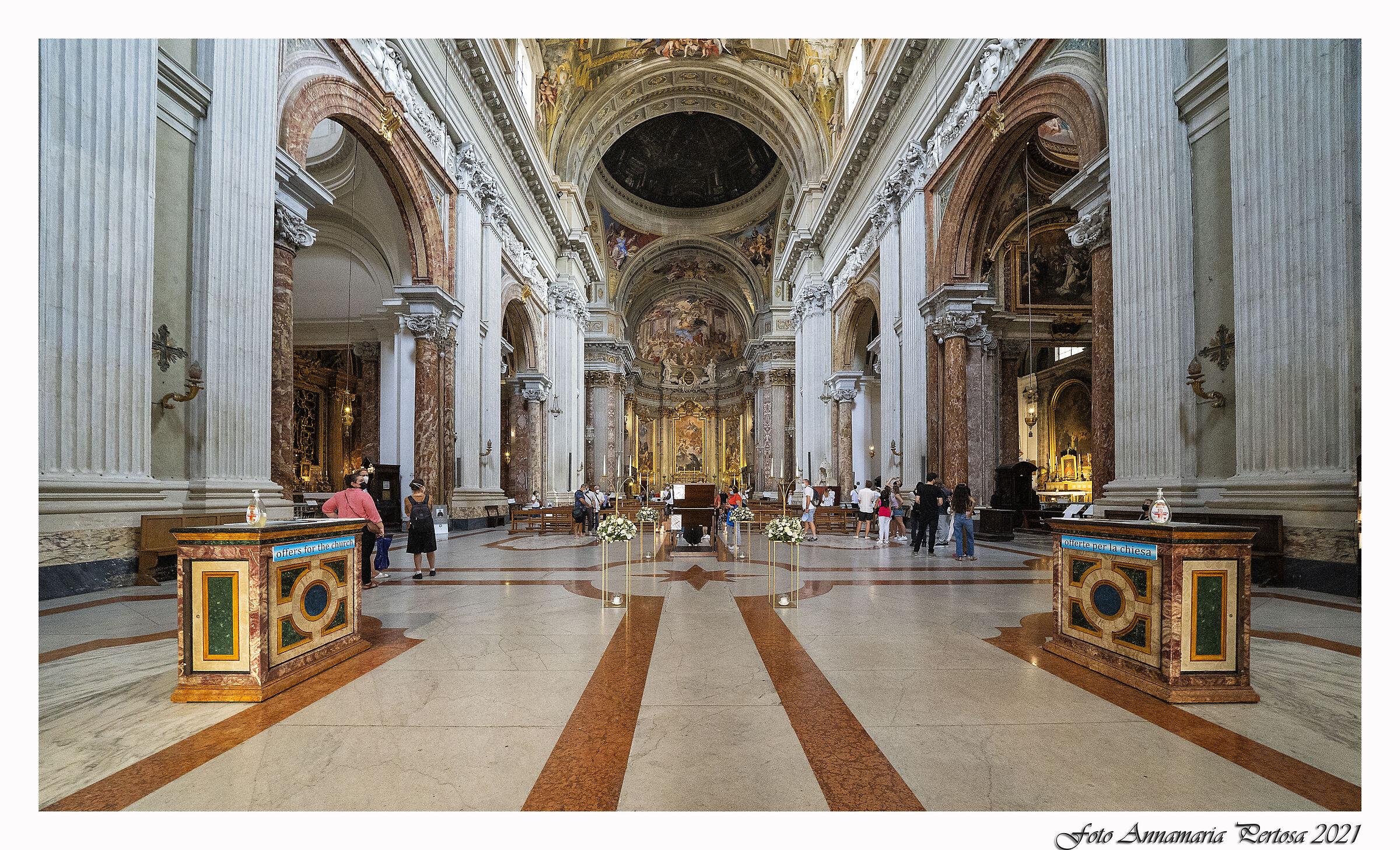 St. Ignatius of Loyola in Rome...