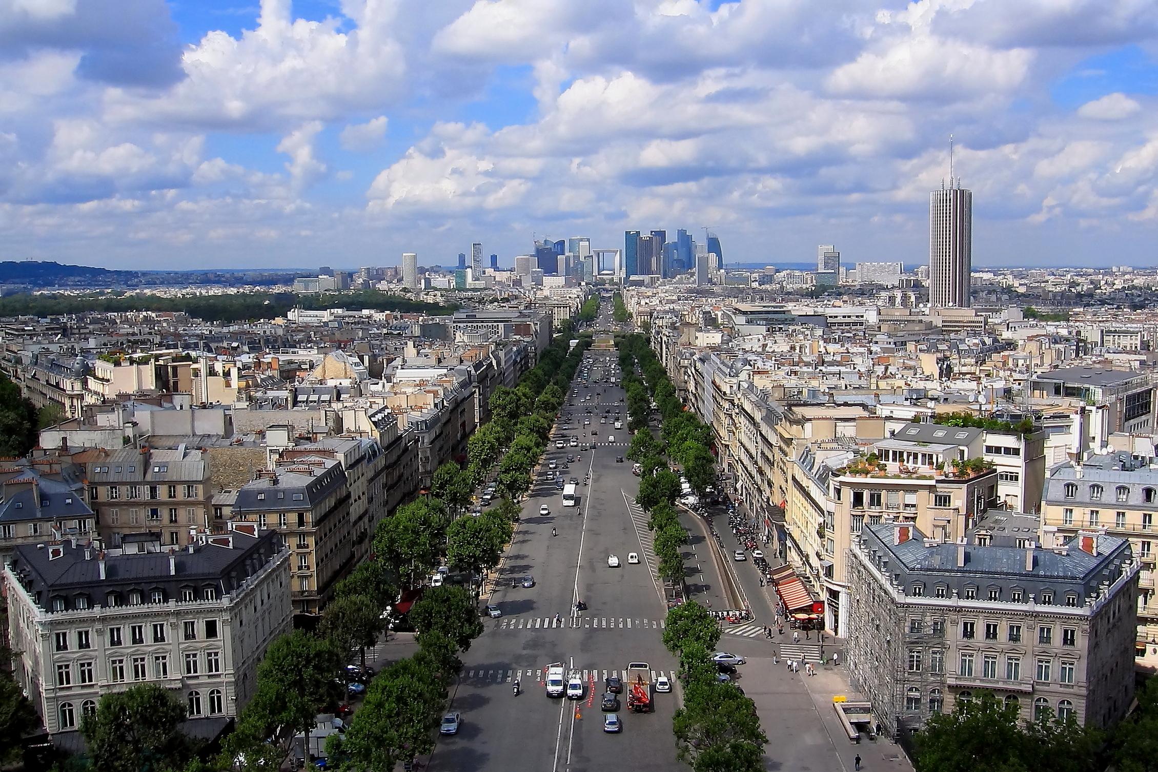 Paris and La Defense...