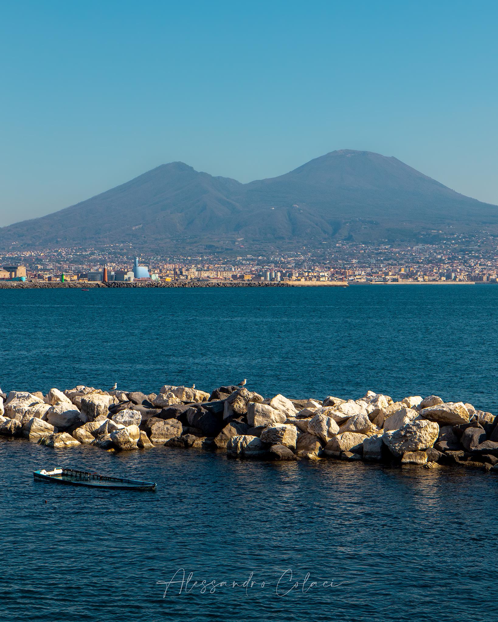 Napoli e il Vesuvio...