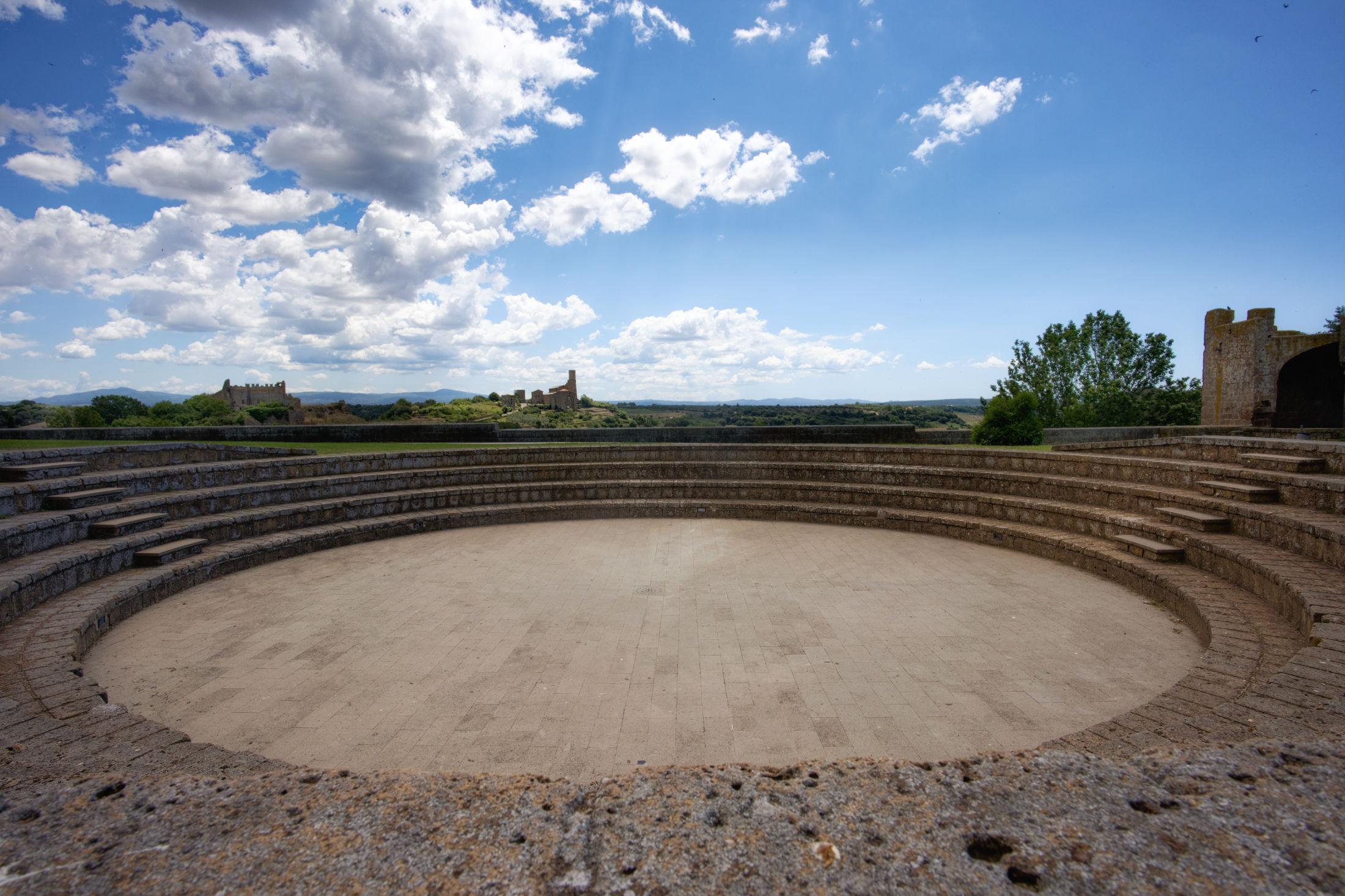 Tuscania Amphitheater...