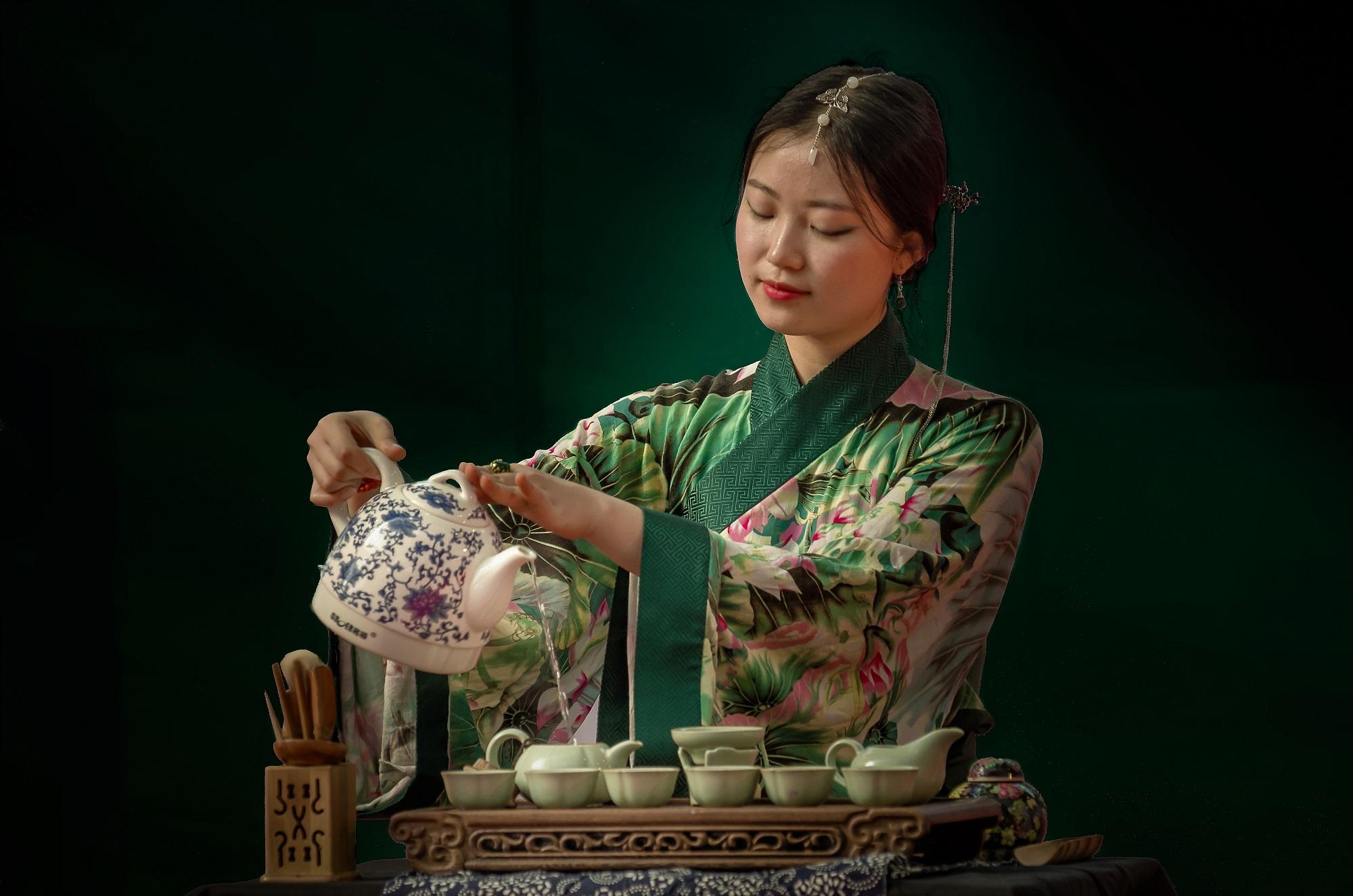 Tea ceremony...