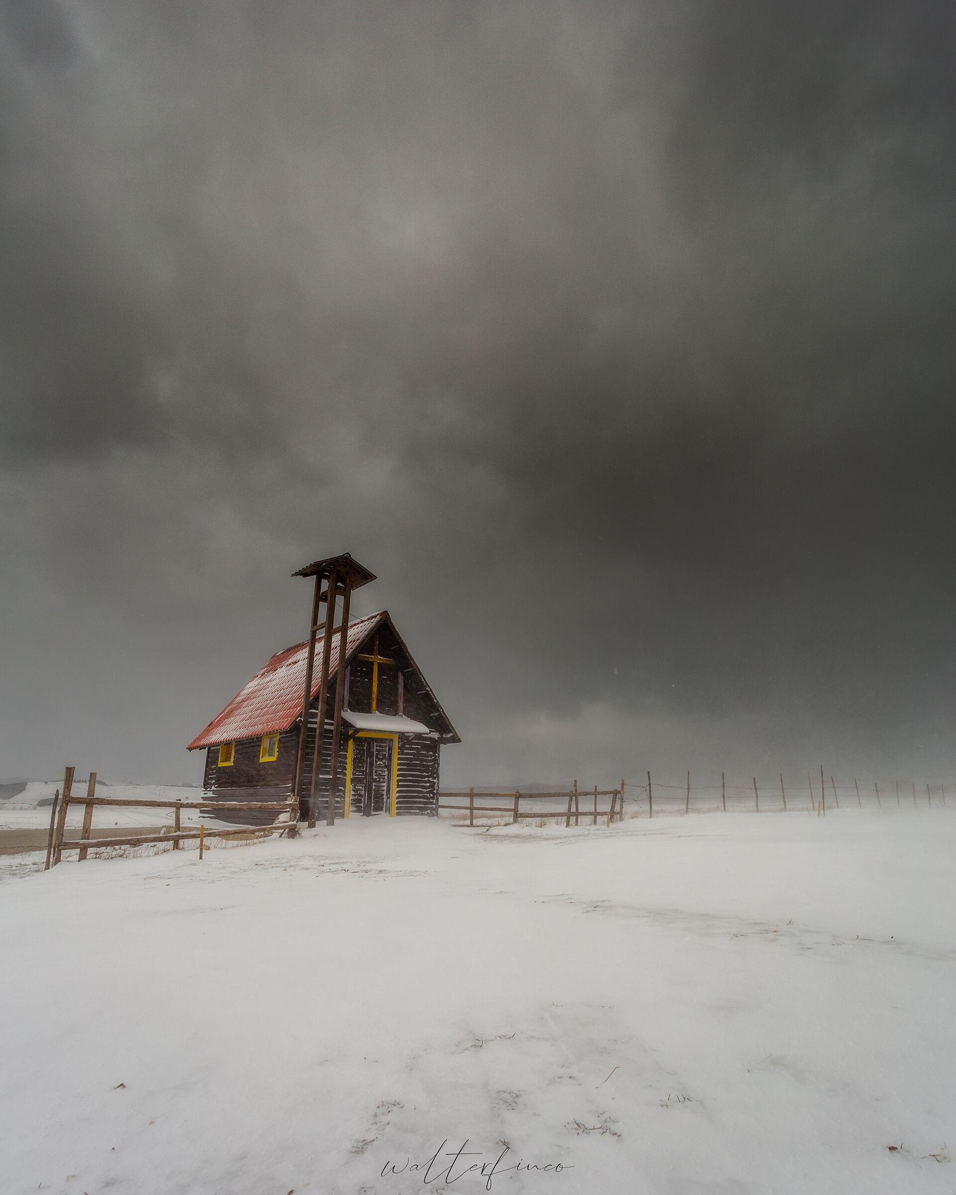 Tempesta di neve...
