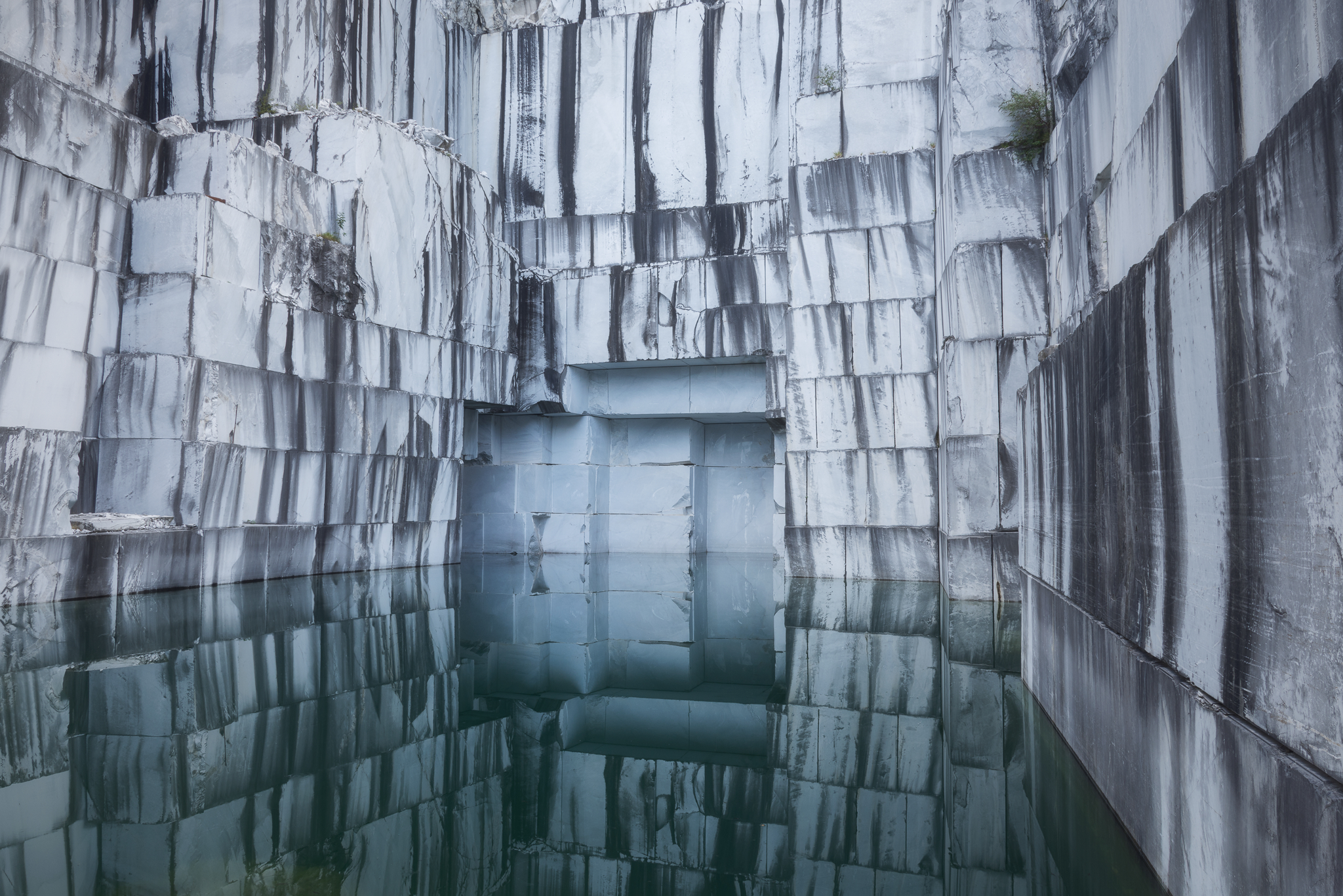 Il lago nel marmo...