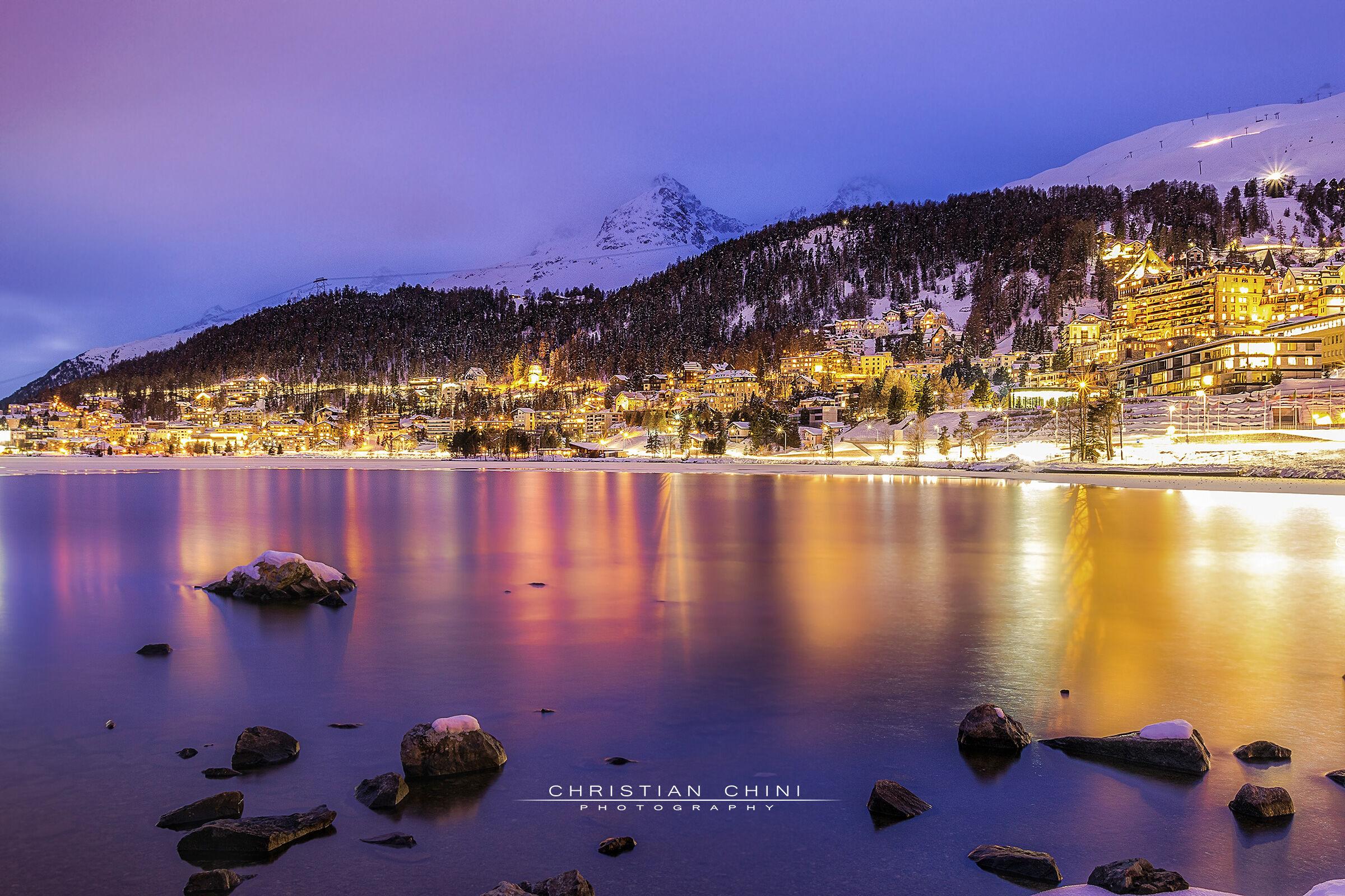 St. Moritz shows up big...