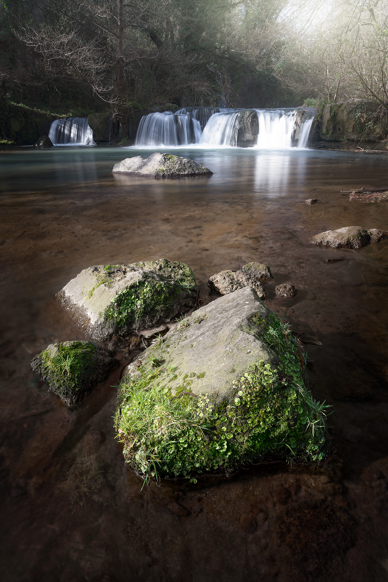 The Waterfalls of Monte Gelato...