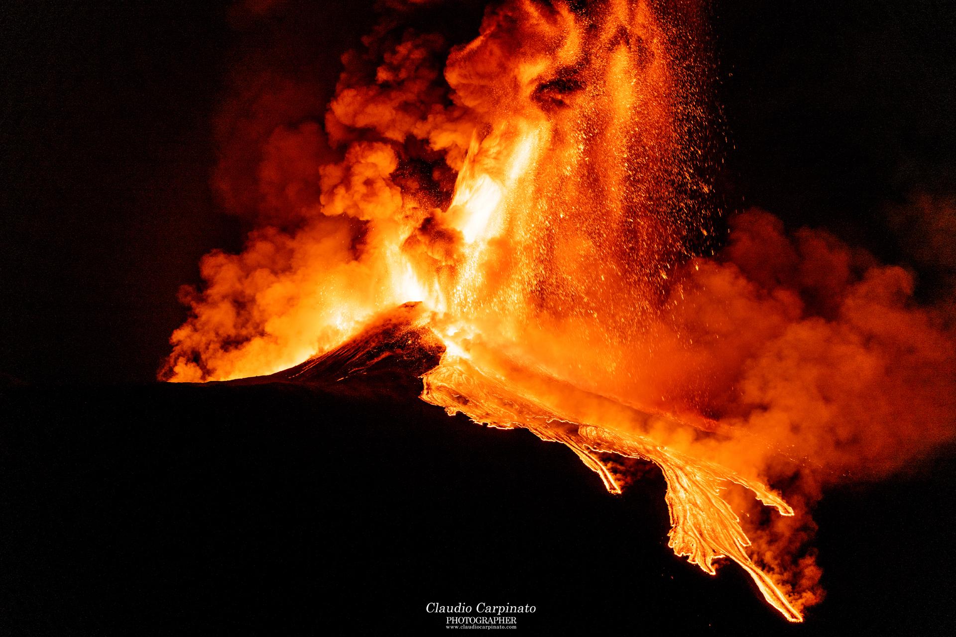 Etna, paroxysm of 23.02.2021...