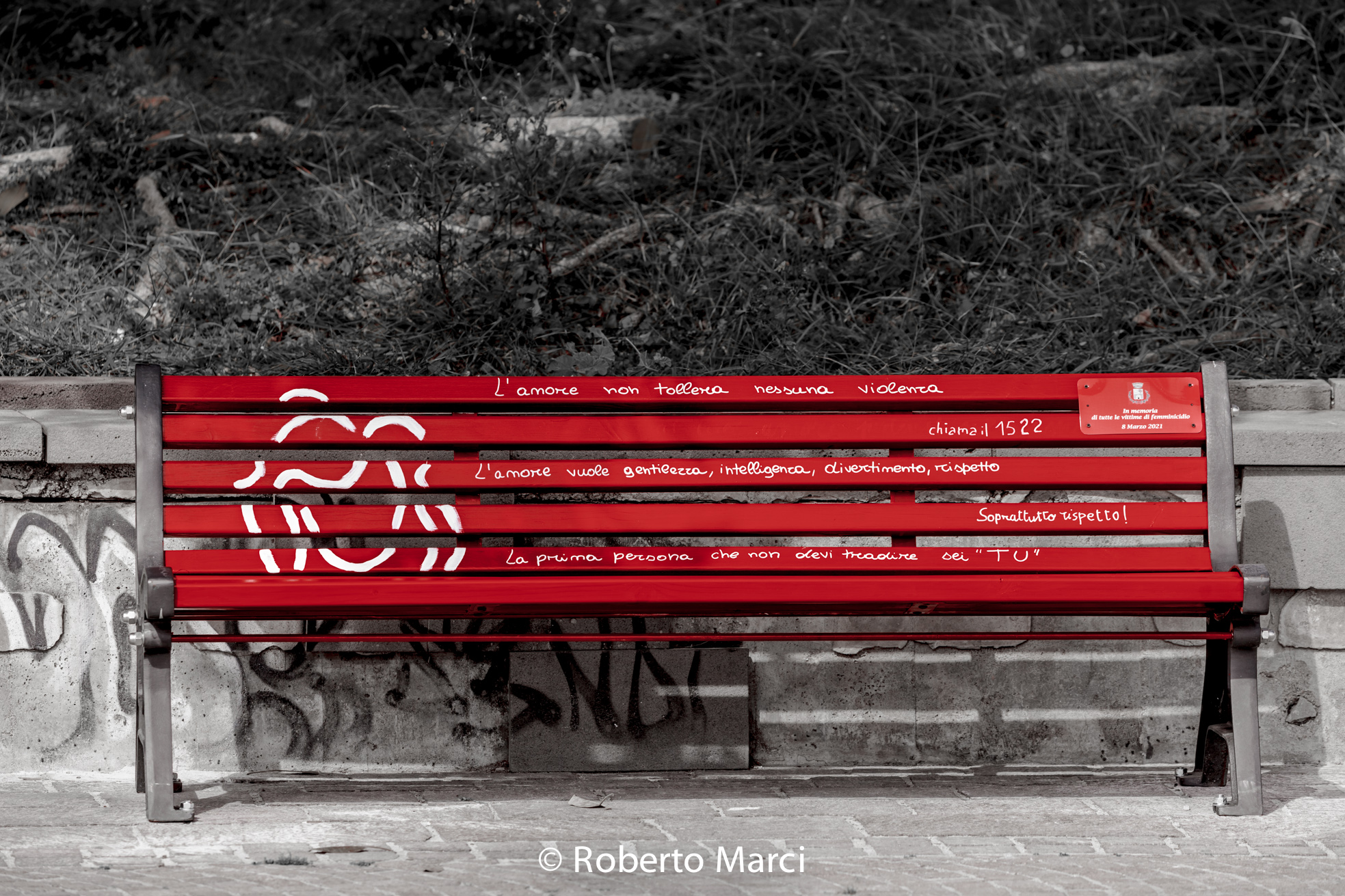 """The """"Red Bench""""..."""