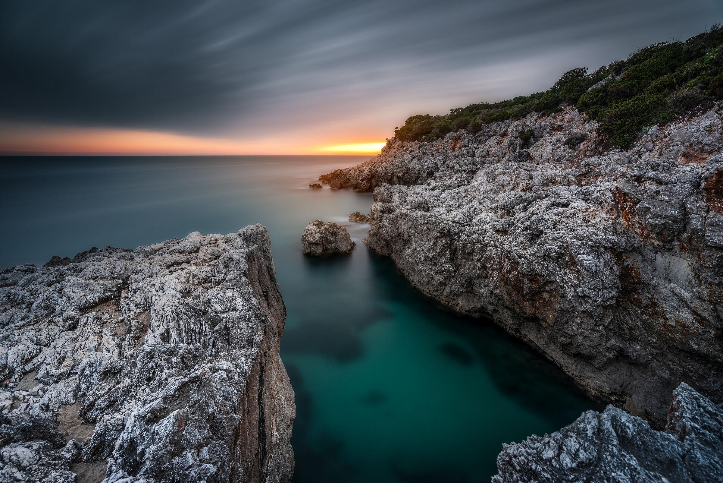 Punta Rossa batteries...