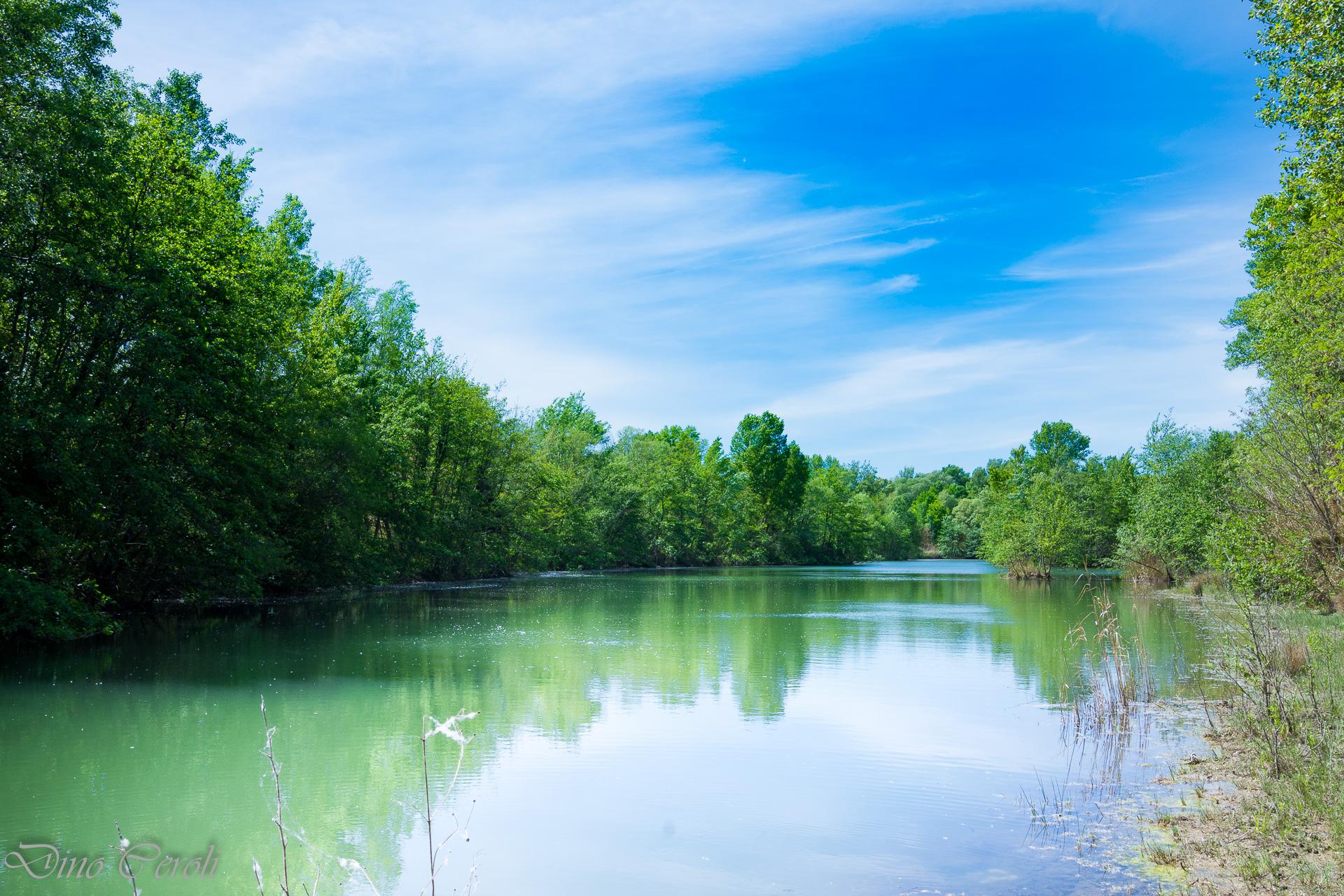 la pace del lago...