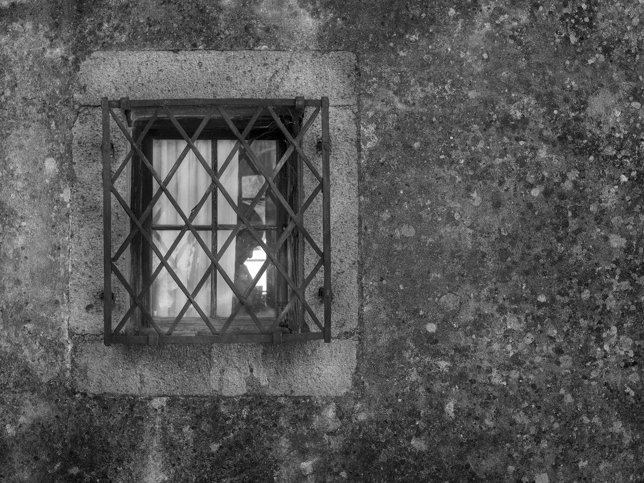 Behind the window......
