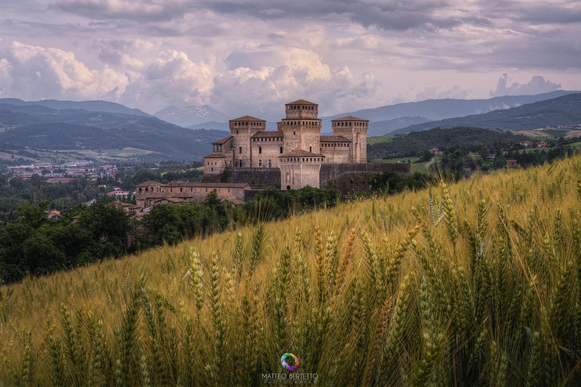 Torrechiara Castle - Langhirano...