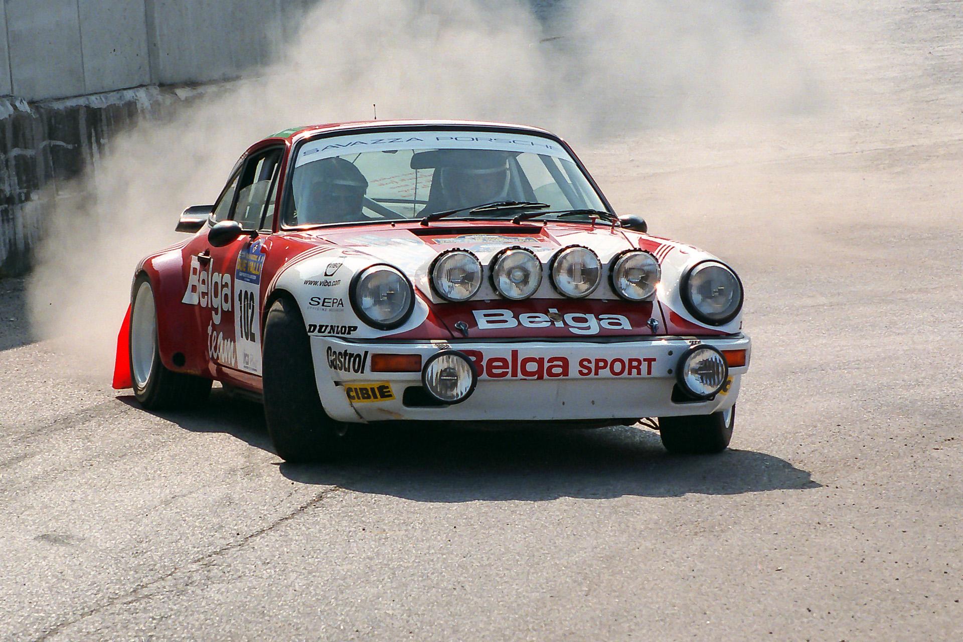 "Porsche 911 ""Belgian Team""..."