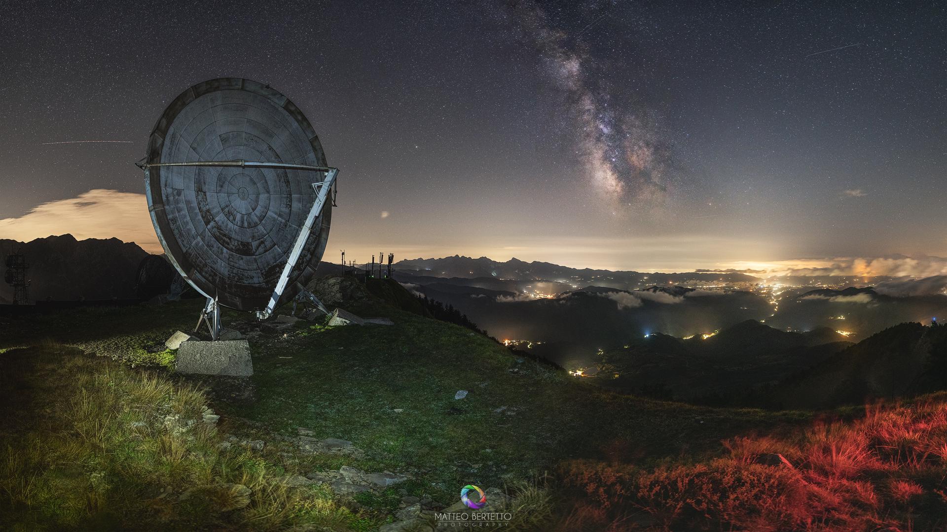 Ex Base Nato del Monte Giogo...