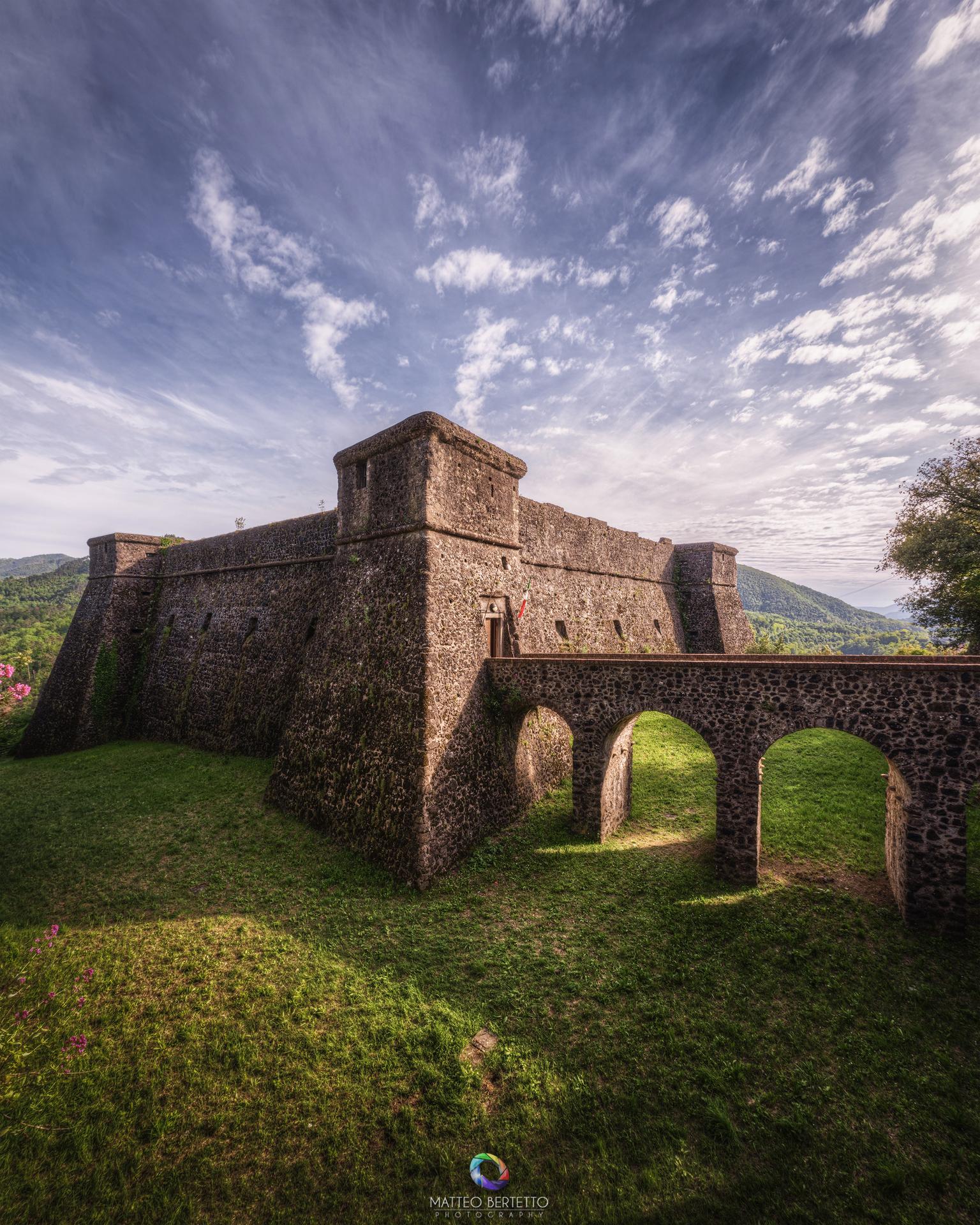 Fortress of Brunella - Aulla...