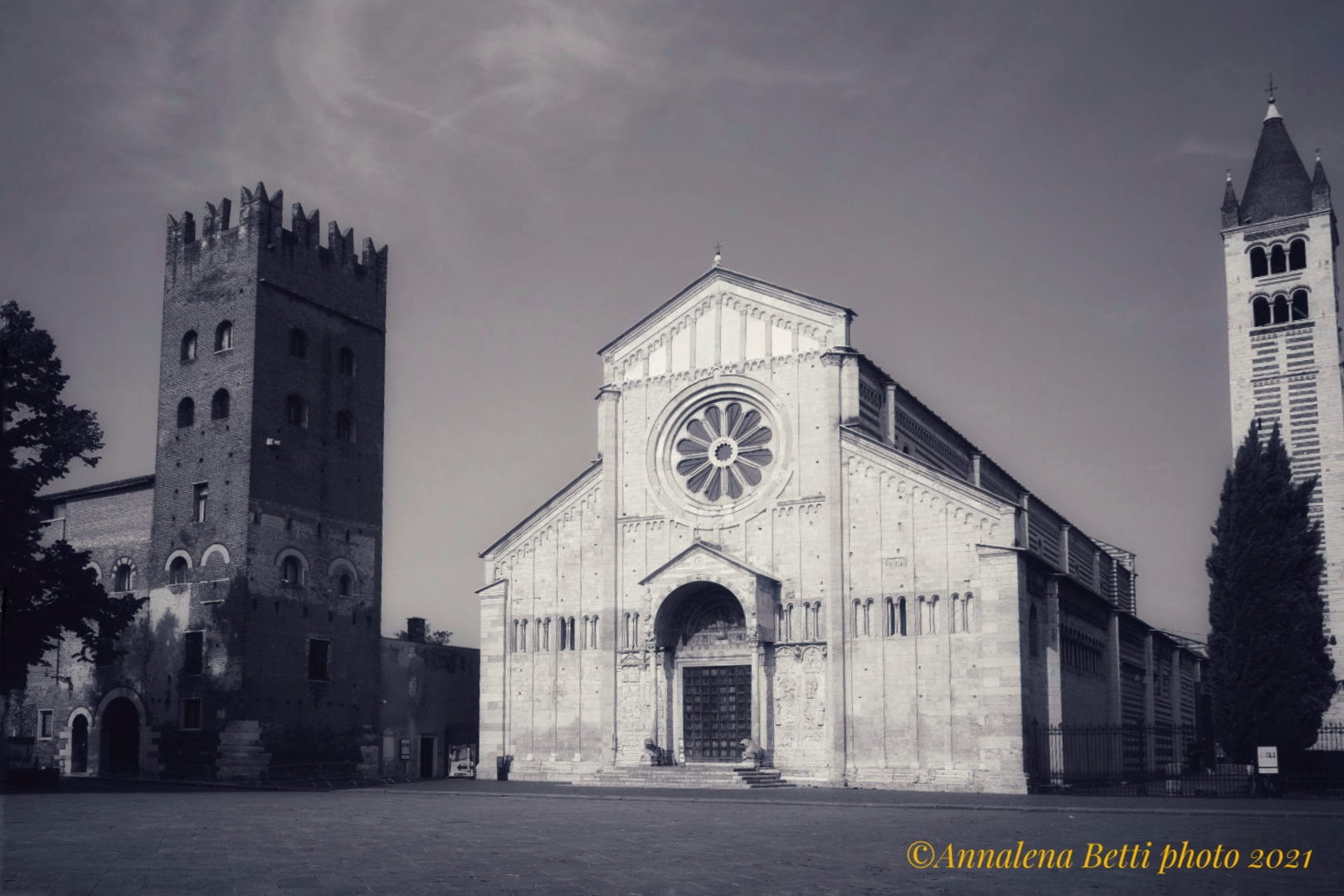 Basilica of San Zeno in Verona...