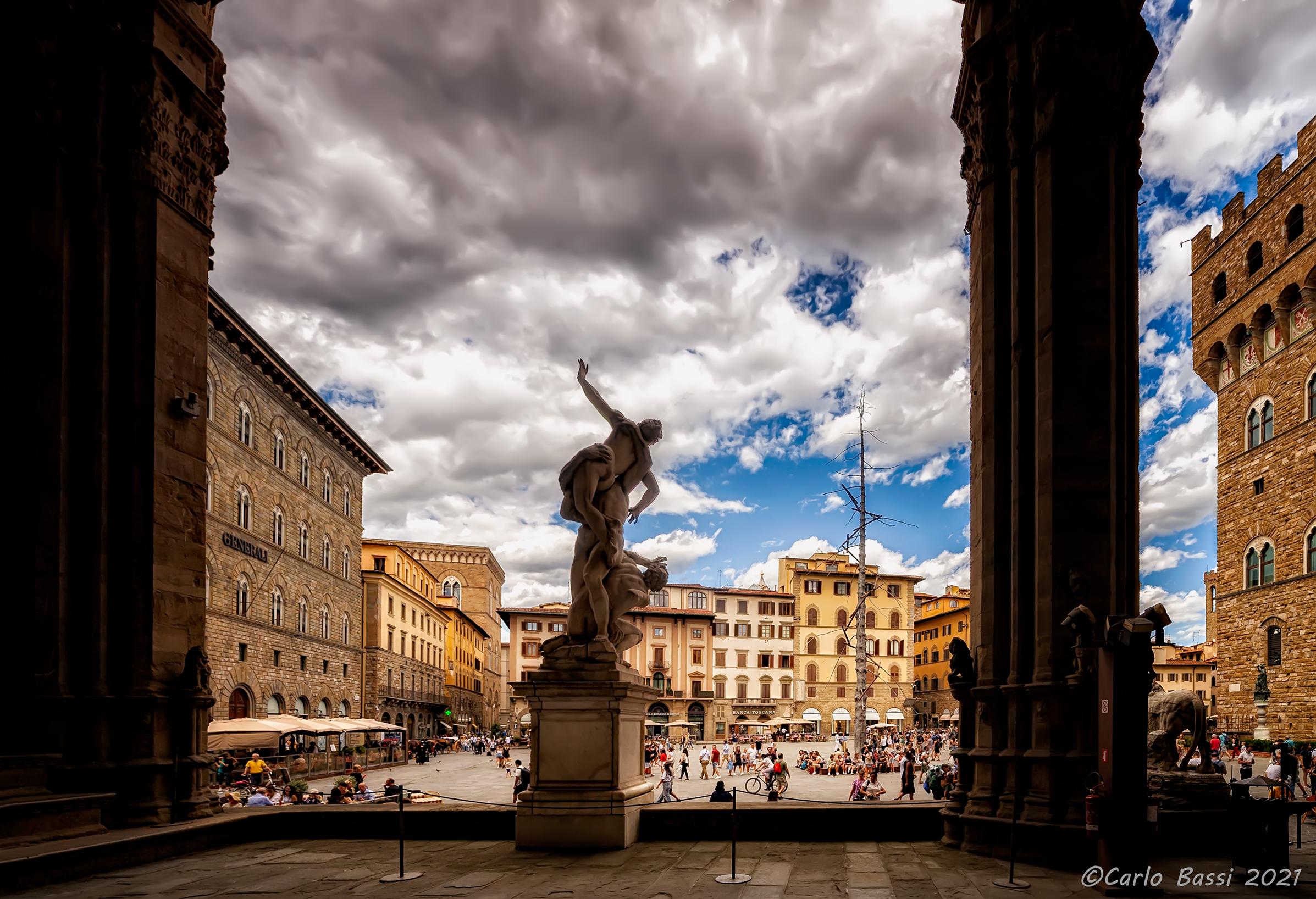 Uno scorcio di Firenze...