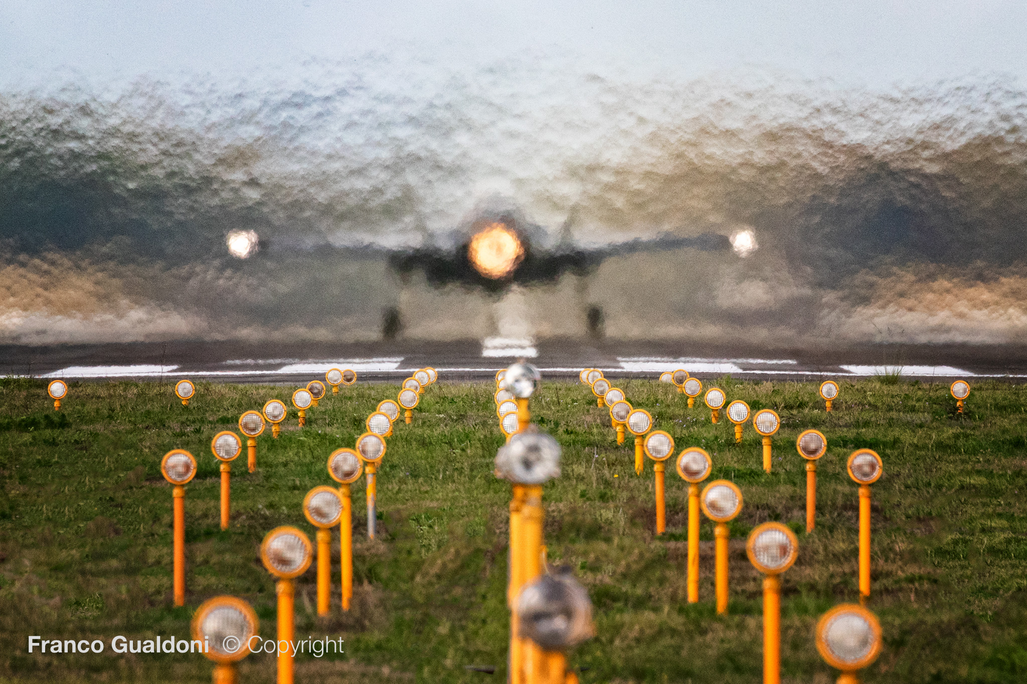 F-35 take off...