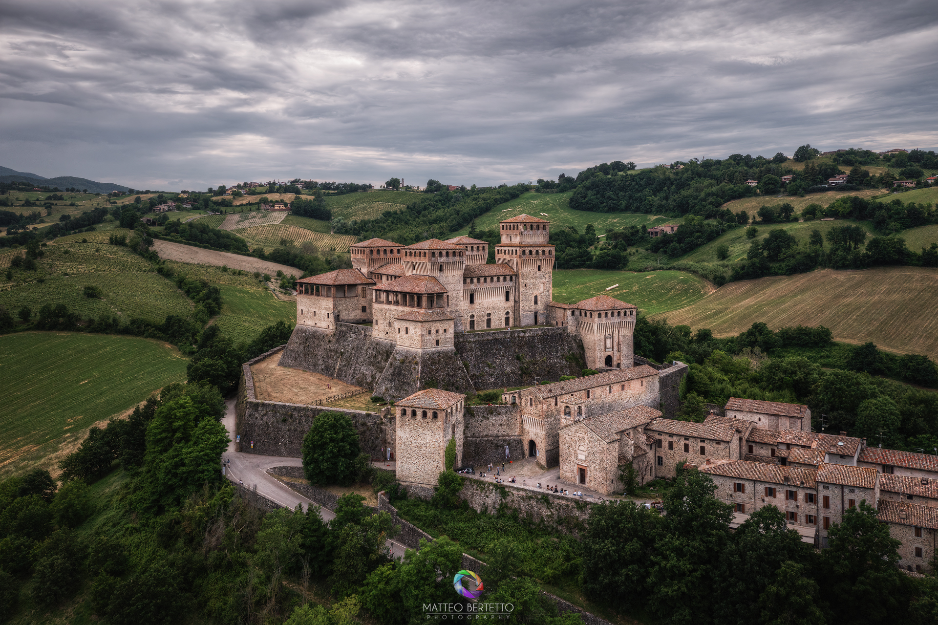 Castle of Torrechiara - Langhirano...